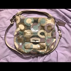 Coach Op Art bag used, very good condition